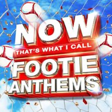 Now That's What I Call Footie Anthems - New CD Album