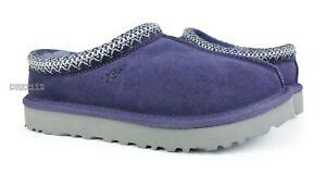 UGG Tasman Purple Sage Suede Fur Slippers Womens Size 6 ~NIB~