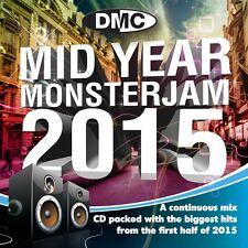 DMC Mid Year Monsterjam 2015 Megamix DJ CD