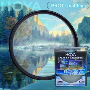 HOYA 43 mm Pro 1 Digital Camera UV Lens Filter Pro1 D Pro1D UV(O) DMC LPF filte
