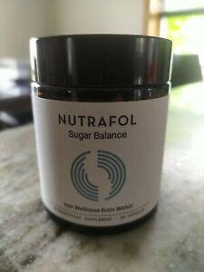 NUTRAFOL SUGAR BALANCE Supplement 30 Capsules Hair Wellness EXP 4/2021