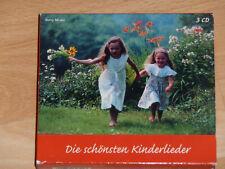 Kinder-und Wiegenlieder auf 3 CDs