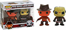 FUNKO POP VINYL FREDDY KRUEGAR AND JASON VOORHEES BLOODY EXCLUSIVE 2 PACK SET