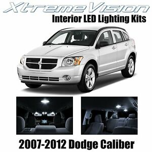 XtremeVision LED for Dodge Caliber 2007-2012 (6 Pieces) Pure White Premium Inter