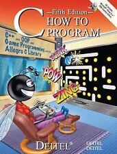 C How to Program by H. M. Deitel and P. J. Deitel (2006, Paperback, Revised)