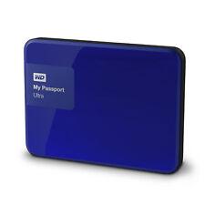 WD My Passport Ultra 2TB Noble Blue Manufacturuer Refurbished Hard Drive by W...