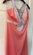 CCDK limited edition, floor length satin dress - size 14