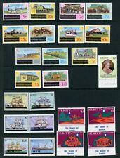 St Kitts 1980-81 commemoratives complete UM/MNH