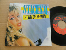 """DISQUE 45T DE STACEY Q  """" TWO OF HEARTS """""""
