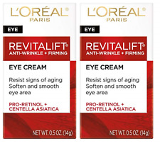 L'Oreal Paris Revitalift Anti Wrinkle and Firming Eye Treatment, 0.5 Oz (2 Pack)