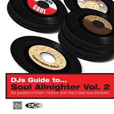 DMC Soul Allnighter 2 - 56 Tracks Double DJ CD Best From Northern Soul & Motown