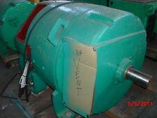 200 HP DC General Electric Motor, 850 RPM, 683AS Frame, DPFV, 500 V Arm.