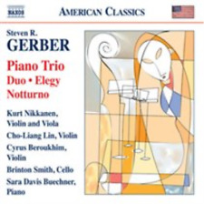 Steven R. Gerber: Piano Trio  CD NEW