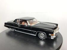 1973 Cadillac Eldorado    1:18  Anson  diecast    Sable Black .