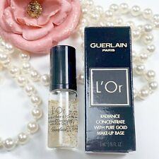 Guerlain L'Or Radiance Concentrate Primer Travel Size .16oz/ 5mL New in Box