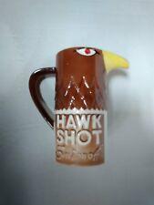 Vintage SMIRNOFF HAWK SHOT Mug Cup Ceramic 1970 Hawk Face