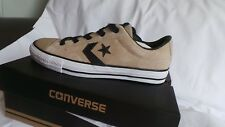 BRAND NEW in box Converse Leather Star Player Ox trainers Size 7 EU 40 Sand  f4f44faae