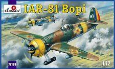 IAR 81 - WW II FIGHTER (ROMANIAN AF ACES MKGS)#169  1/72 AMODEL