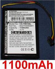 Batterie 1100mAh Pour TOMTOM 4EM0.001.01, N14644, V3, XL IQ, 6027A0093901
