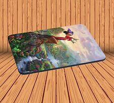 Computer Mouse Pad For Gaming Anti-Slip With Mickey Mouse Fantasia Mousepad