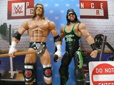 WWE MATTEL ELITE SERIES FLASHBACK WRESTLING FIGURES DX TRIPLE H & X-PAC LEGENDS