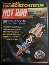 Hot Rod Magazine February 1975 Jet Dragsters Ford Vans Z6 OO FF CC B1 i WW X5 X6