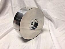 """Belt Grinder Drive Wheel 7"""" Diameter, 5/8"""" Shaft for 2X72 Knife Grinder Balanced"""