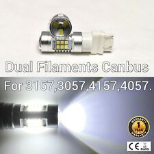 T25 3155 3157 3457 4157 SRCK 21 SMD LED White Front Signal M1 For Dodge A