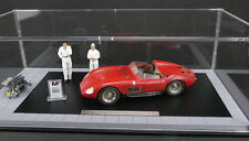 1956 MASERATI 300S DIRTY HERO W/2 FIGURES AND ENGINE & DISPLAY CASE 1/18 CMC 172