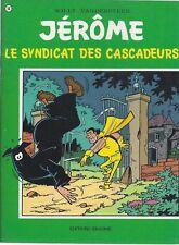BD  Jérôme- Le syndicat des cascadeurs  - N°56 - Re- 1980 -TBE -Vandersteen