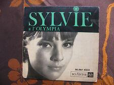 EP SYLVIE VARTAN A L'OLYMPIA   RCA Victor 86.007 / Repress Juillet 1963