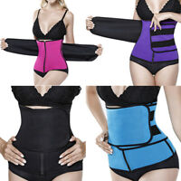 Body Shaper Slimming Wrap Belt Waist Cincher Corset Trainer Fajas Colombianas