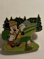 DSF Characters Playing Golf Mickey Mouse Disney Pin LE (B0)