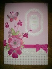 10 x pink blossom sprays flowers-card making/scrapbooking/floristry