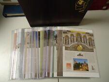 BUND DEUTSCHLAND 2003/2019 - Alle 17 Gold Numisblätter ohne Münzen komplett!