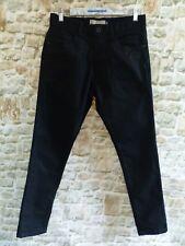 Next Mens/Boys Skinny Jeans 30R Black Hardly Worn