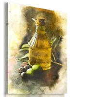 PAINTING DRAWING OIL OLIVES VISUAL ART PRINT Canvas Wall Picture  R20 MATAGA