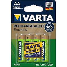 Varta Rechargeable NiMH Battery AA 1.2V 2500mAh 4-Blister VARTA-56686B