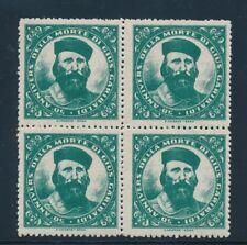 Italy Garibaldi 50th Anniv of Death poster stamp block of 4 NH
