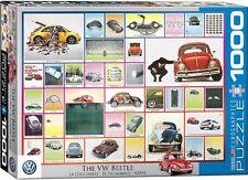 "VW Beetle ""hemos hecho cosas"" 1000 Pieza Rompecabezas 68mm X 49mm (PZ)"