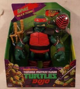 """Teenage Mutant Ninja Turtles Raphael 11"""" Dojo Training Nickelodeon Playmates MIB"""