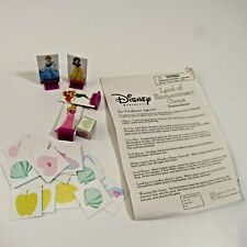 Disney Princess Land of Enchantment Game Replacement Instructions Dice Tokens