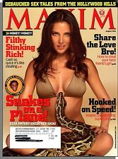 Maxim 104 - 2006, August - Elsa Pataky & Snakes, How to Steals a Friend's Girl