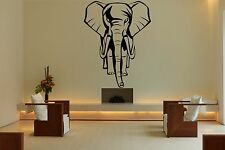 Wall Room Decor Art Vinyl Sticker Mural Decal Elephant Africa Animal Head FI761