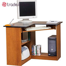 Small Corner Computer Desk Student Workstation Space Saving Table PC Home Office