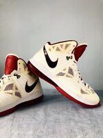 Nike Lebron James RARE LIMITED Men's sz 11.5 Miami Heat 441946-100 EXCELLENT Con