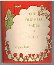 The Duchess Bakes A Cake by Virginia Kahl 1955 1st Ed. Rare Antique Book!  $