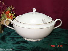 Lenox Courtyard Platinum Covered Soup Tureen NEW USA