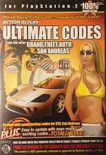 ULTIMATE CODES-GRAND THEFT AUTO SAN ANDREAS: PS2,  PlayStation 2, PlayStation2 V