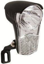 Büchel LED-Scheinwerfer--UNI LED-15 LUX für Seitenläuferdynamo-schwarz